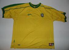 Brazil 1998-00 home football shirt. World Cup xl mens