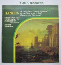 ZK 2 - HANDEL - Arrival Of The Queen Of Sheba MARRINER AoSMITF - Ex LP Record
