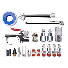 """20Pcs Air Tool Accessory Kit, 1/4"""" NPT Air Compressor Connect Plug With Case"""