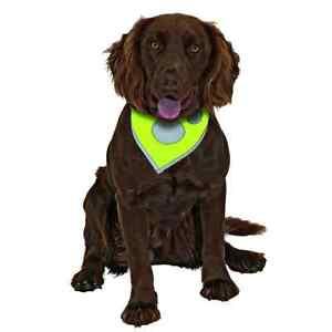 Safety Dog Sicherheits-Halstuch L: 48 - 60cm B: 3 cm gelb von Karlie