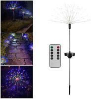 Solar Feuerwerk Lichter Led Kupfer Draht Starburst String Fairy Lichter 8