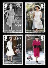 British Antarctic 2016 Queens 90th Birthday 4v set MNH