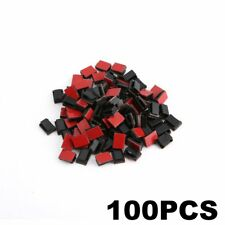 100 pcs Adhesive Cable Clips Wire Clamps Car Cable Organizer Cord Tie Holder M2