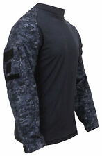 Long Sleeve Combat Shirt Heat Resistant Tactical Military Rothco, 2XL