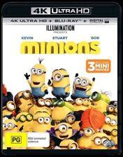 Minions (Blu-ray, 2017, 2-Disc Set)