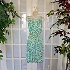 Re Go Fashions Sleeveless A Line Fit & Flare Full Swing Floral Vintage Dress