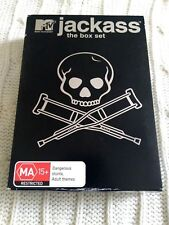 JACKASS- THE BOX SET- REGION-4, VERY GOOD, FREE POST WITH TRACKING