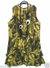 SARAH SANTOS Leinen Sommerkleid Kleid Linen Dress Robe XL 48 50 Lagenlook