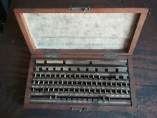 Kuroda #68157 Gauge Block 74 pieces Assortment Set w/ Case