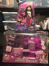 NEW Bratz Jade Xpress It Fashion Collection & New SEW Stylin Sewing Machine Rare