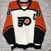 Authentic NHL Hockey Jersey Philadelphia Flyers Eric Lindros Captain #88 CCM