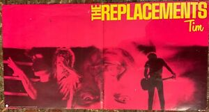 ORIGINAL THE REPLACEMENTS Rare TIM ALBUM PROMO POSTER Sire
