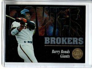 1994 LEAF BARRY BONDS POWER BROKERS