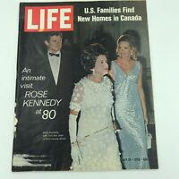 Vintage Life Magazine July 17, 1970 - Rose Kennedy at 80 - Great Ads