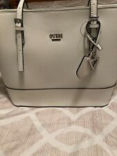 Guess Women Handbag White Color Brand New With Tags
