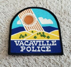 Vacaville California Police Shoulder Patch OS