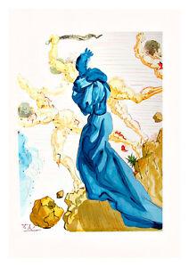 Divine Comedy Inferno 15 by Salvador Dali A4 Art Print