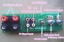 DC 12V Low Pass Filter Preamplifier Board for Subwoofer Volume Control Balance