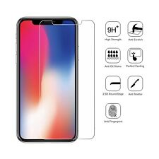 iPhone X 100% Genuine Tempered Glass Crystal Clear Screen Protector Guard