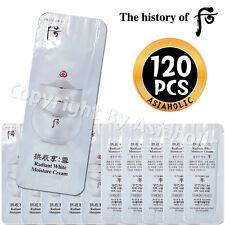 The history of Whoo Radiant White Moisture Cream 1ml x 120pcs (120ml) Sample