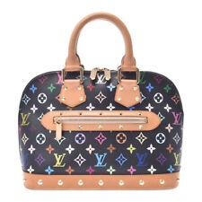 LOUIS VUITTON multicolor Alma black M92646 Hand Bag 800000083029000