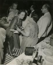 Wallis Simpson, Duchesse De Windsor Vintage silver print Tirage argentique