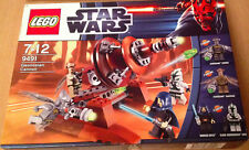 BOITE SET LEGO STAR WARS VAISSEAU 9491 NEUF ET SCELLÉE GEONOSIAN CANON BARRIS