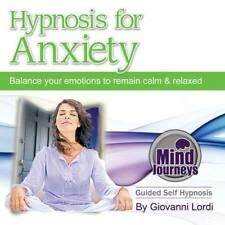 HYPNOSIS FOR ANXIETY (CD) GIOVANNI LORDI