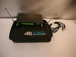 dB Technologies 910 R 801-819,650MHz Empfänger         jh