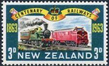 NEW ZEALAND - 1963 - 100 Years New Zealand Railways 1863-1963 - MNH - Sc. #362