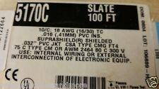 Alpha Wire 5170C 18/10C XtraGuard 1 Suprashield Sun/Oil Resist Cable 105C /25ft