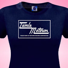 TAMLA MOTOWN Northern Soul Music Ladies T SHIRT All Nighters & Retro SKA