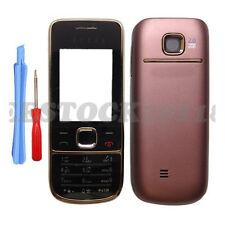 Bronze Brown Fascia Full Housing Case Cover Keypad for Nokia 2700C 2700+Tools