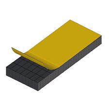 Industrial Gasket - Closed Sponge Rubber (10 feet) #1200.5.10. FREE SHIPPING