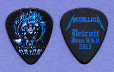 Metallica James Hetfield Orion Festival Black Guitar Pick - 2013 Tour Detroit