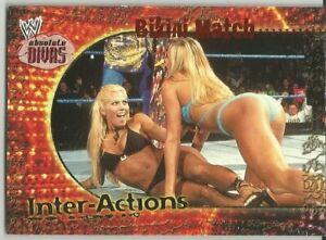 2002 FLEER WWE ABSOLUTE DIVAS STACY KEIBLER/TORRIE WILSON BIKINI MATCH SP #7of20