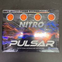 Nitro Pulsar 12 Orange Golf Balls- New Sealed Package Free Shipping