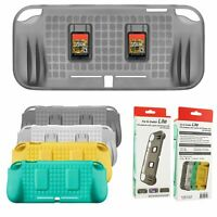 TPU Protective Case + 2 Card Slots + Hand Grip for Nintendo Switch Lite Console