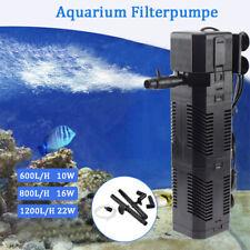 Aquarium Innenfilter Aquariumpumpe Filterpumpe Sauerstoffversorgung 600-1200L/h