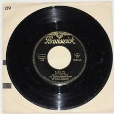 "LOUIS ARMSTRONG GARY CROSBY Ko Ko Ko I Love You So 7"" Vinyl 1955 Brunswick RARE"
