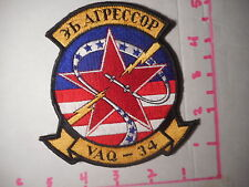 VAQ-34 With Red Star Aipeccop Fully Embroidered Vintage Patch  b-1