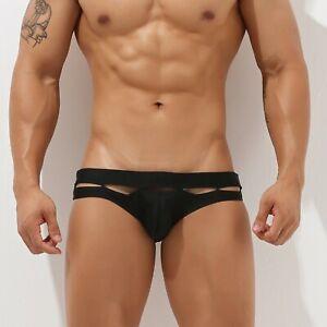 NEW SEOBEAN Men's Low Rise Sexy style Bikini Swimming Trunks Swimwear