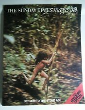 Rare 1972 Sunday Times magazine - Motoring Special & Return to Stone Age