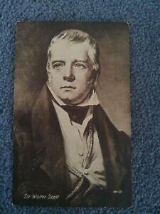 Old Valentine's Carbotype Series, Sir Walter Scott, Scottish Novelist