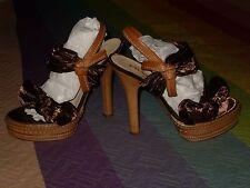 Zapatos Prada Milano sandalias salon logo grabado suela dorado link en anuncio