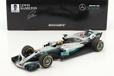 1/18 Minichamps L.Hamilton Mercedes F1 W08 EQ Power + #44  Spain GP F1 2017