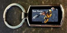 Custom personalised Wolverine Key ring Metal with GIFT BOX.