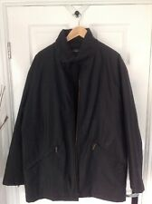 """COTTONFIELD BLACK COAT XL BY CARLI GRY 46"""" CHEST"""