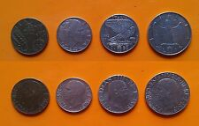 Regno d'Italia - Vitt. Emanuele III - 10 + 20 + 50 Cent. + 1 Lira 1942 SPL