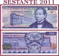 MEXICO   MESSICO   -   50 PESOS 5.7.1978  - Serie GK   -   P 67a  -   FDS / UNC